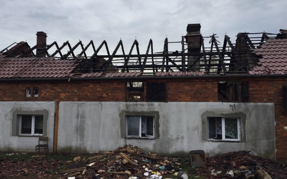 Zbiórka Pożar domu - odbudowa - zdjęcie główne