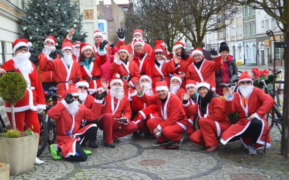Zbiórka Mikołaje na Rowerach Dzieciom - zdjęcie główne