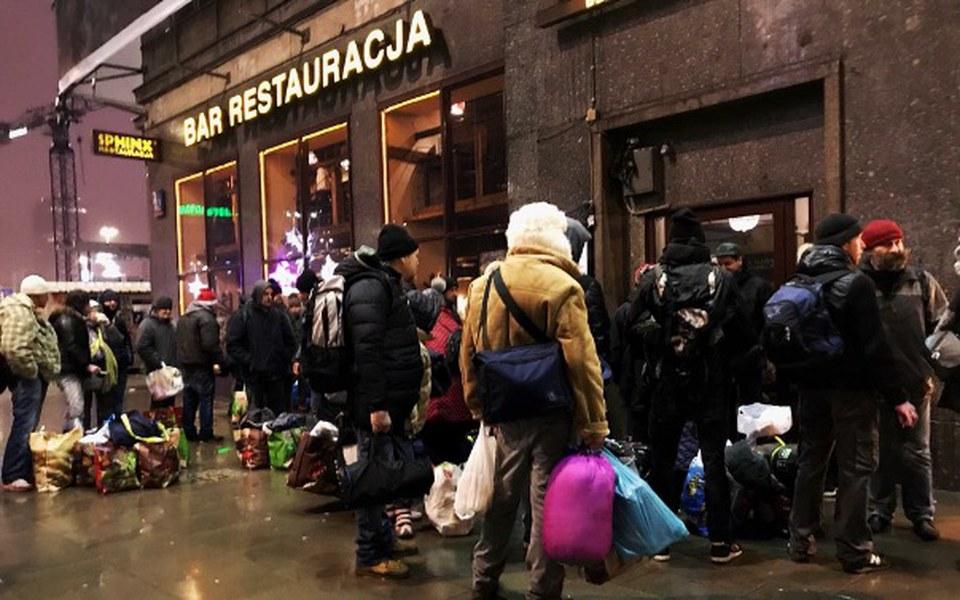 Zbiórka Świąteczna akcja dla Bezdomnych. - zdjęcie główne
