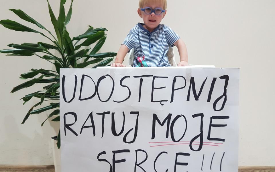 Zbiórka Walka o zdrowie i życie Szymonka - zdjęcie główne