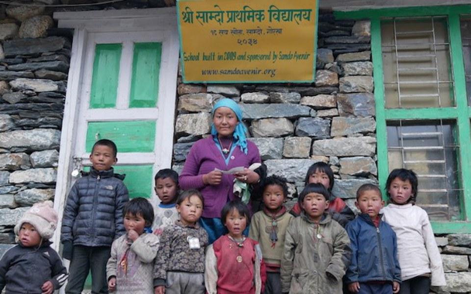Zbiórka Szkoły w chmurach w Nepalu - zdjęcie główne