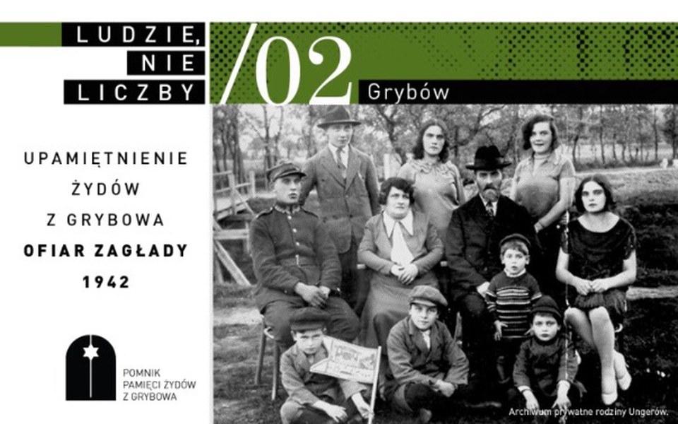 Zbiórka Pomnik Żydów w Grybowie - zdjęcie główne