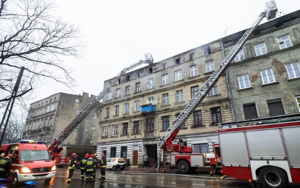 Zbiórka Pomoc po pożarze kamienicy Łódź - zdjęcie główne