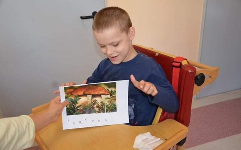 Zbiórka Dla Kamila z porażeniem mózgowym - zdjęcie główne