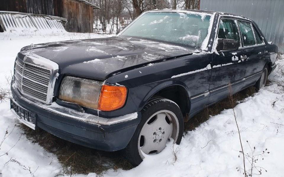 Zbiórka Odrestaurowanie Mercedesa - zdjęcie główne
