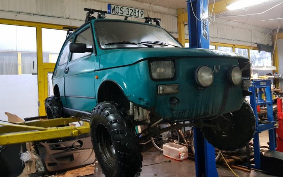 Zbiórka Projekt Fiat 126p OffRoad - zdjęcie główne