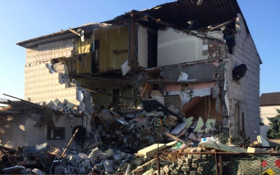 Zbiórka Odbudowa domu po wybuchu gazu - zdjęcie główne