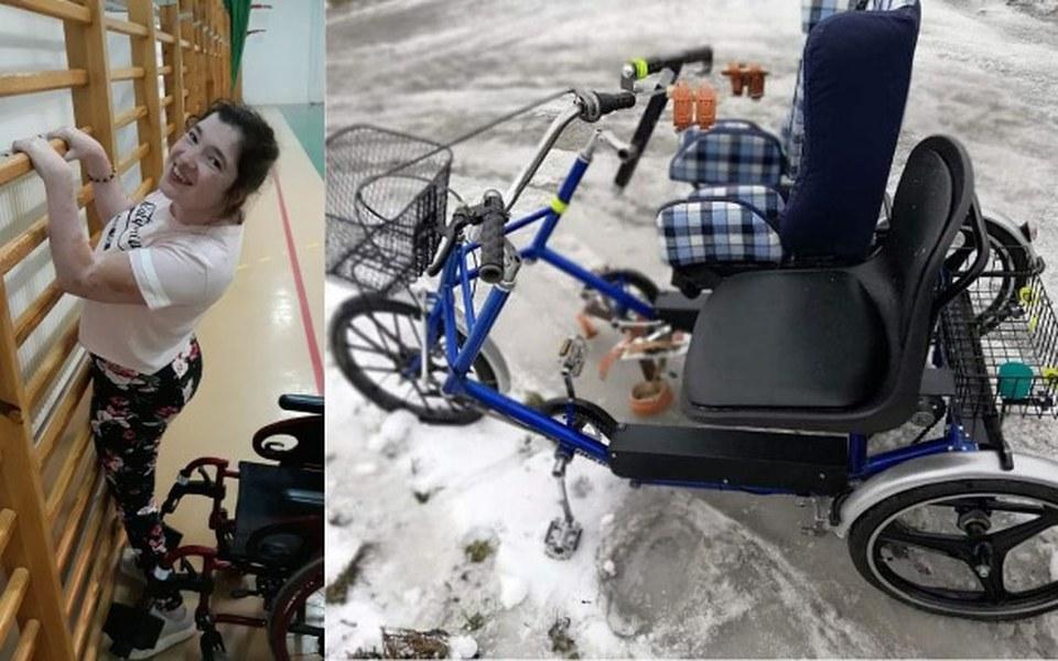 Zbiórka rower rehabilitacyjny dla Kingi - zdjęcie główne