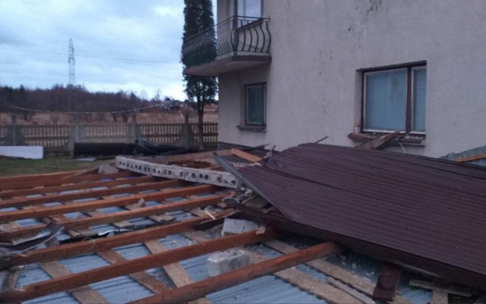 Zbiórka Pomo rodzinie z zerwanym dachem - zdjęcie główne
