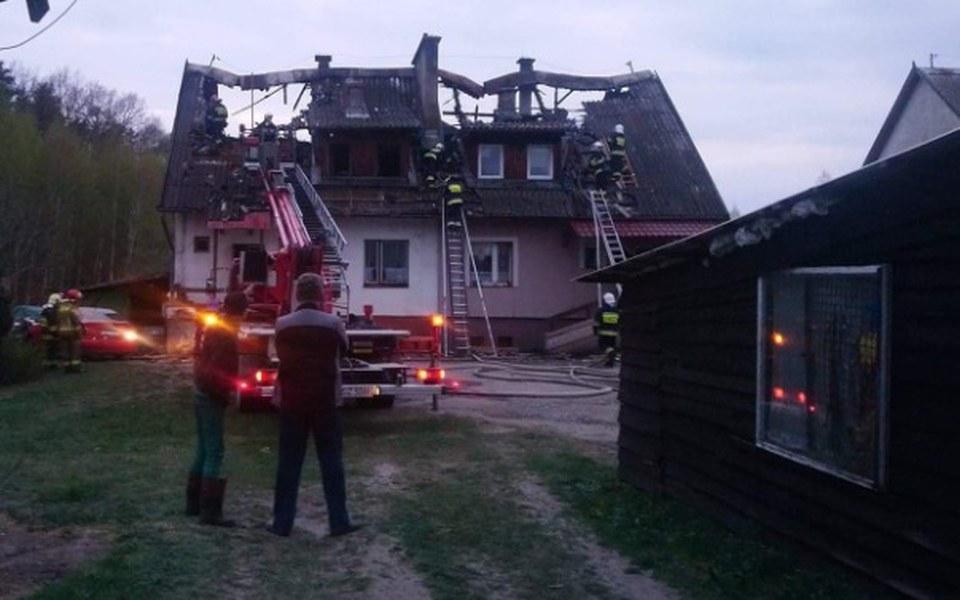 Zbiórka Pożar domu w Tulicach - zdjęcie główne
