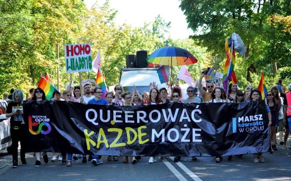 Zbiórka II Marsz Równości w Opolu - zdjęcie główne