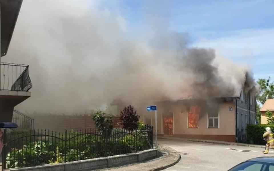 Zbiórka Pożar Domu - Dzierzgoń - zdjęcie główne