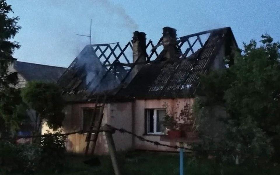 Zbiórka Odbudowa domu który spłonął - zdjęcie główne
