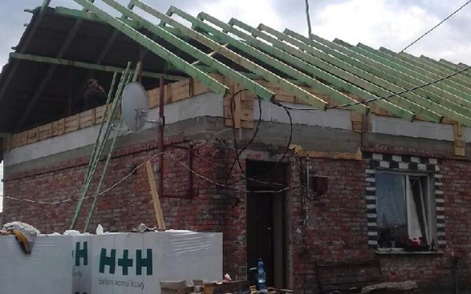 Zbiórka Piorunem na odbudowe domu - zdjęcie główne