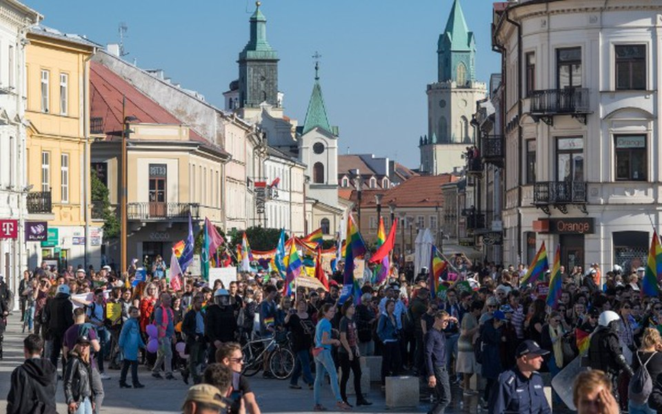 Zbiórka Drugi Marsz Równości w Lublinie - zdjęcie główne