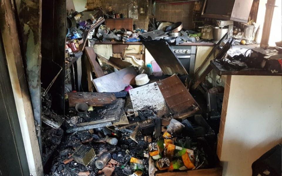Zbiórka Pomoc rodzinie po pożarze 25.07 - zdjęcie główne