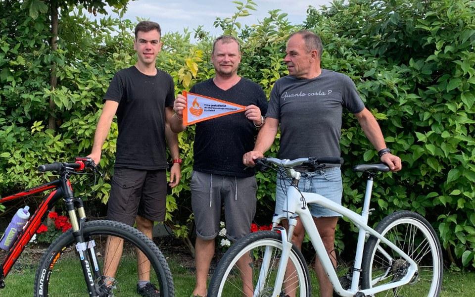 Zbiórka Trzy pokolenia na rowerach - zdjęcie główne