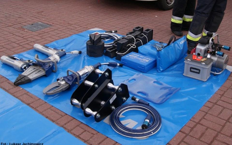Zbiórka Narzędzia hydrauliczne dla STRAŻ - zdjęcie główne