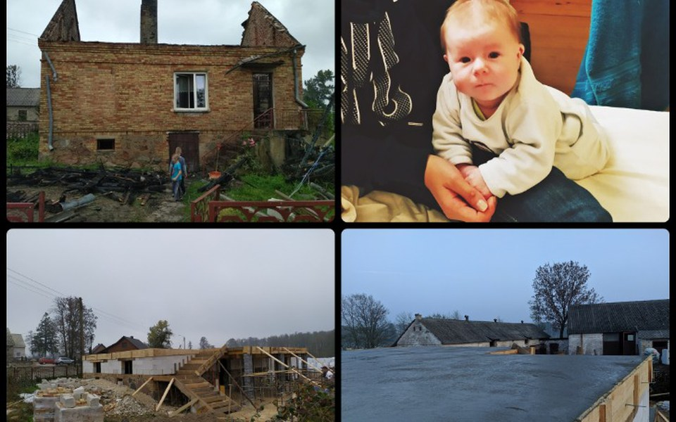 Zbiórka  Odbudujmy Dom Po Pożarze  - zdjęcie główne