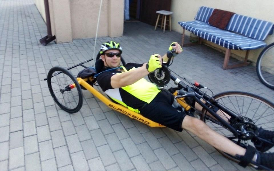 Zbiórka Rower zasilany siłą rąk dla osob - zdjęcie główne