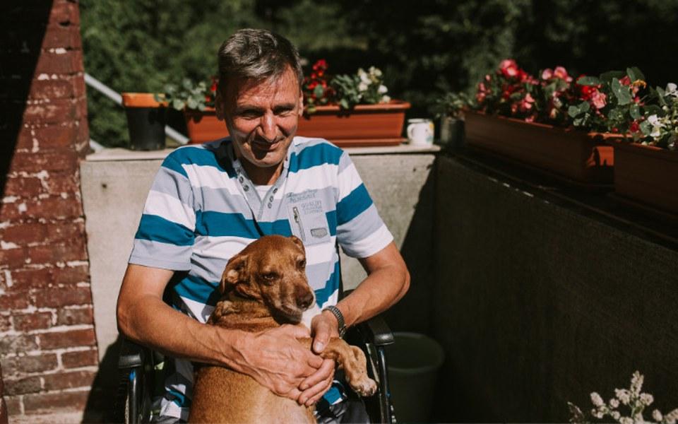 Zbiórka przywrócić GODNOŚĆ życia Mirkowi - zdjęcie główne