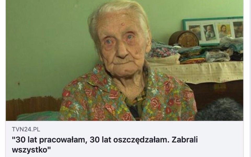 Zbiórka Zabrali Pani Ewie wszystko! - zdjęcie główne