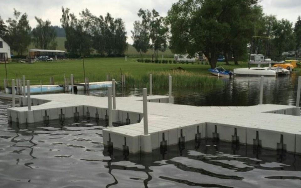 Zbiórka Pomost pływający Przystań Wodna - zdjęcie główne