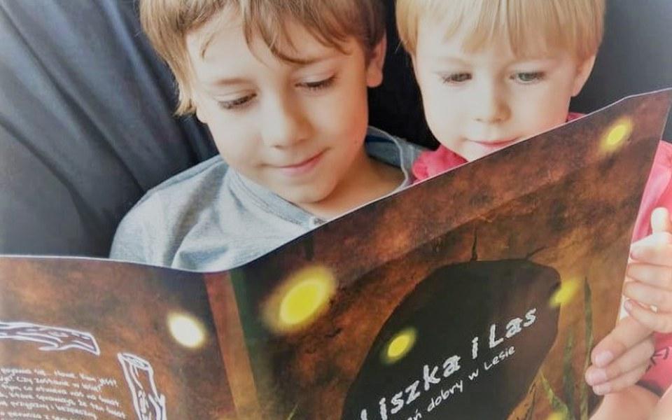 Zbiórka Liszka i Las - niezwykła książka - zdjęcie główne
