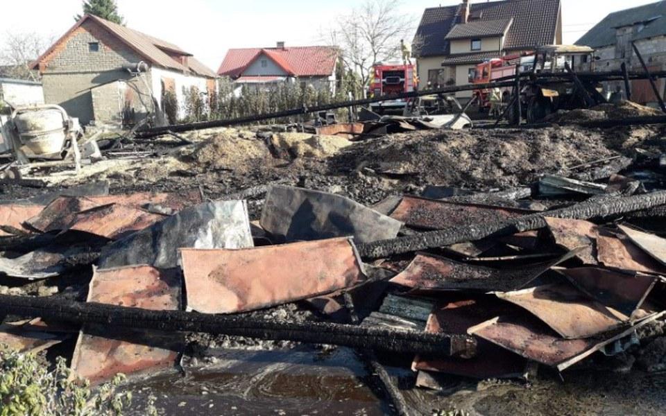 Zbiórka Pomoc po pożarze gospodarstwa - zdjęcie główne